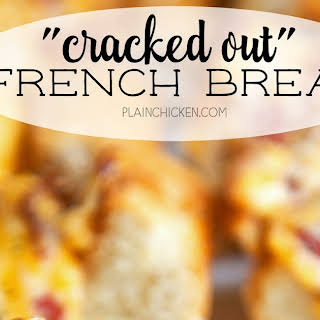 """Cracked Out"" French Bread."