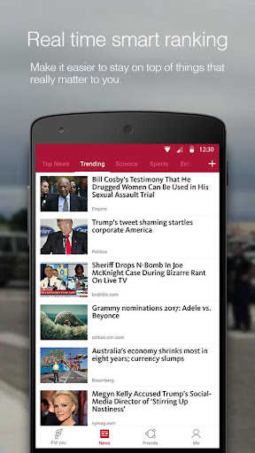FeedNews: AI curated news app screenshot 3