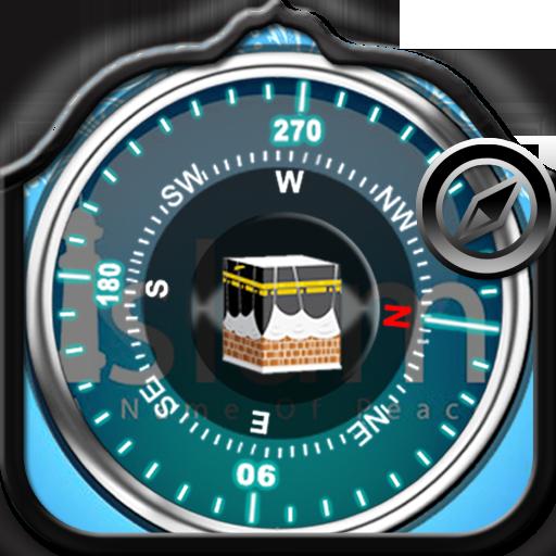 Islamic compass qibladirection