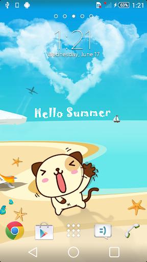 XP Theme Hello Summer