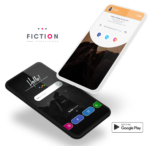Screenshot for Fiction KWGT in United States Play Store