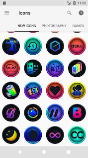 ایپس Ravic - Icon Pack Android کے لئے screenshot