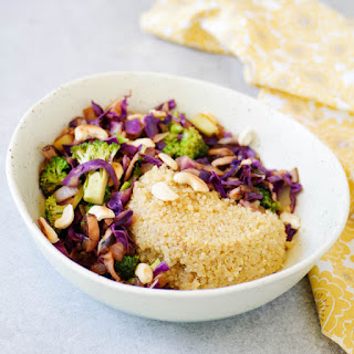 Cashew Vegetable Quinoa Bowl
