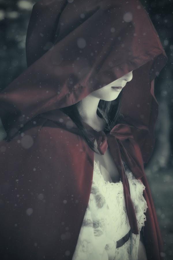 Red Riding Hood by Benedict Gacutan - People Portraits of Women