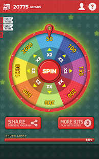 Free Bitcoin Spins- screenshot thumbnail