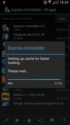 Express Uninstaller - screenshot