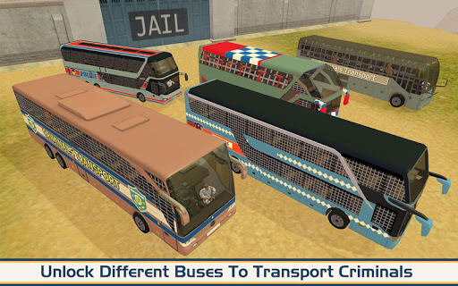 Angry Criminals Transport: Police Bus Sim 1.3 screenshots 15