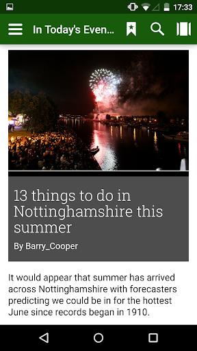 Nottingham Post Evening Edit.