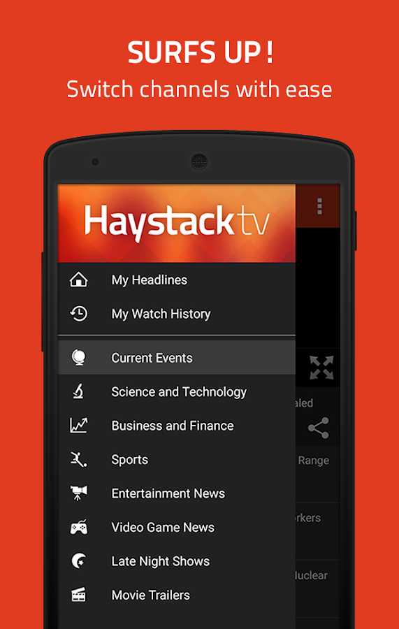 Haystack TV News- screenshot