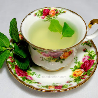 Orange Blossom Mint Tea
