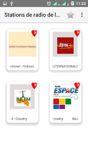 Stations de radio du Guinee - náhled