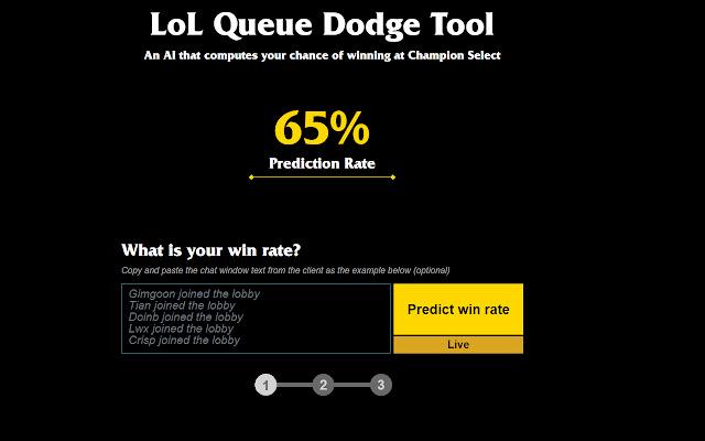 Auto LoL Dodge Tool