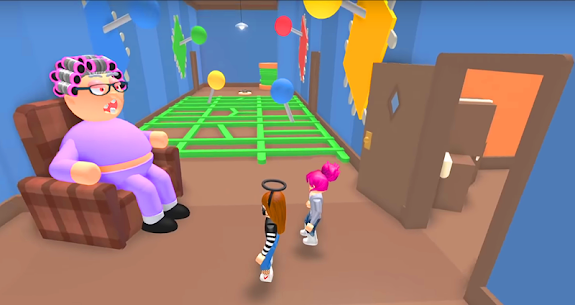 escape grandpa and grandma roblox's house Mod