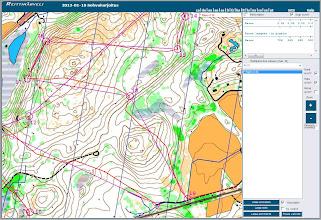 Photo: A Karttapullautin map from Vihti in Routegadget