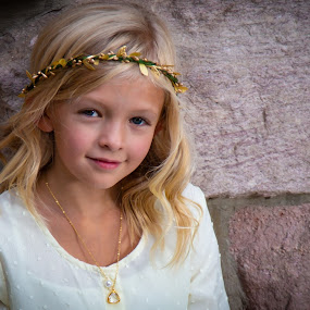 An Angel by Richard States - Babies & Children Child Portraits ( innocence, beauty, girl, child,  )