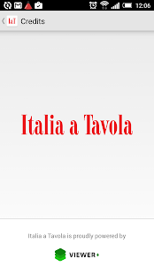 Italia a Tavola- screenshot thumbnail