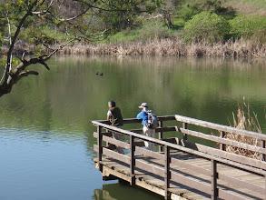 Photo: Sharon and Edgar at Jordan Pond