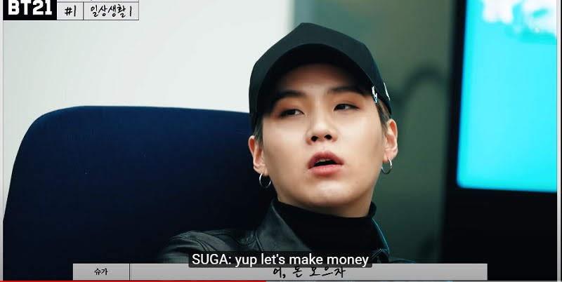 BTS's Money Minded Brains Jin And Suga making Wild BT21