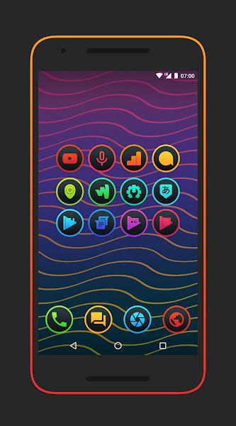 Lux Dark – Icon Pack v3.0