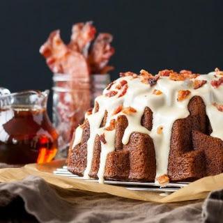Banana Bacon Bundt Cake - #BundtBakers
