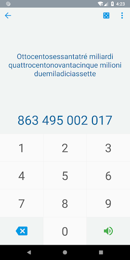 Numbers in Italian 4.6 screenshots 1