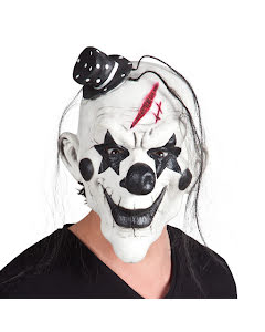 Mask, killer clown pierrot
