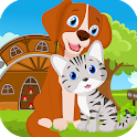 Kavi Game-  419 Dog And Cat Escape Game icon