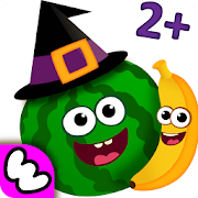 Funny Food! Educational Games for Toddlers 3 years‏