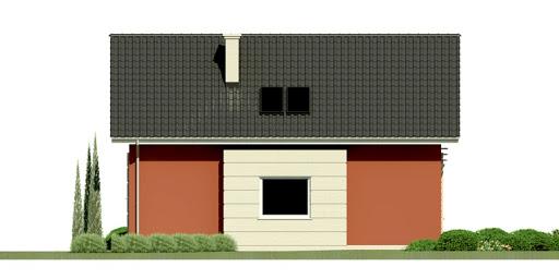 Dom przy Polnej 2 - Elewacja tylna