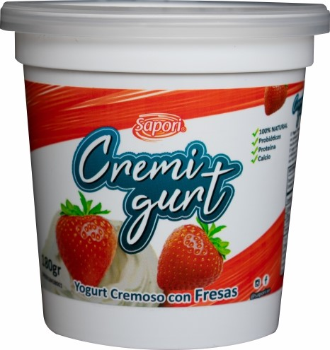yogurt cremoso cremigurt fresa 180gr