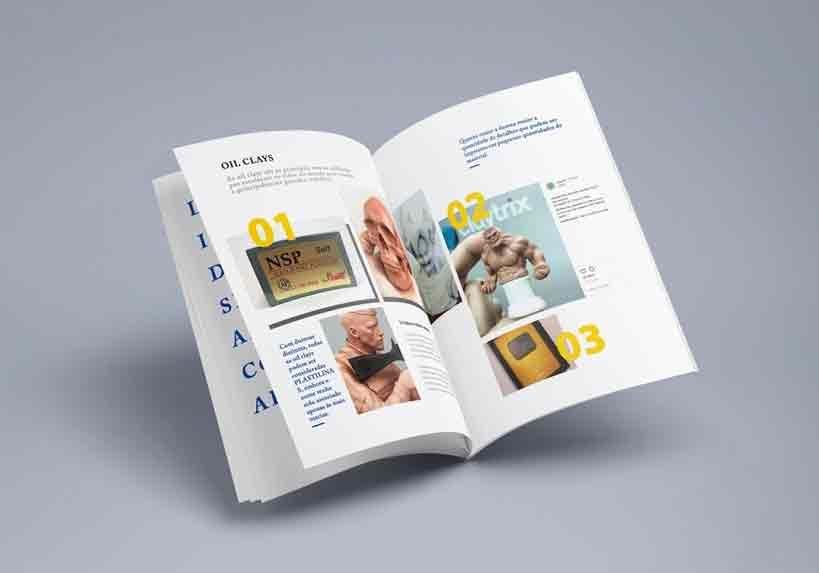Claytrix - Manual de Ferramentas e Massas de Escultura - Bônus exclusivo do Curso de Escultura Para Iniciantes Anatomia do Herói