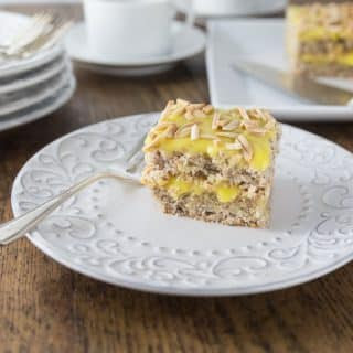 Swedish Almond Cake.