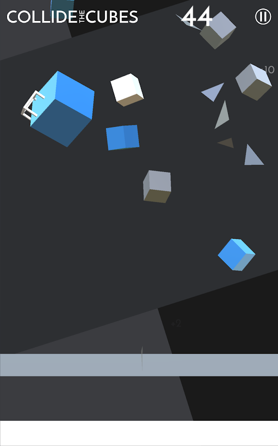 Collide the Cubes- screenshot