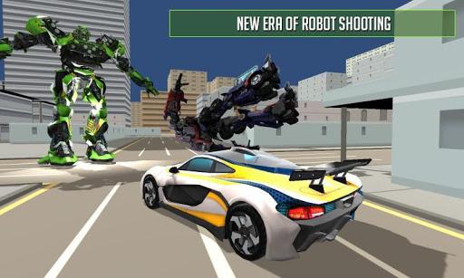 Un robot de voiture transforme les combats  captures d'écran 1