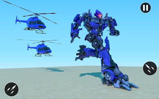 US Police Car Transform Robot War Rescue 2020  screenshots 15