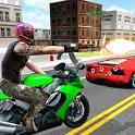 Biker Gang- New Bike Race Shooting Action Game 3D icon
