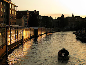 Photo: sunset canal