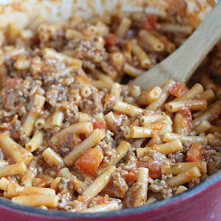 One-Pot Beef-a-Roni.