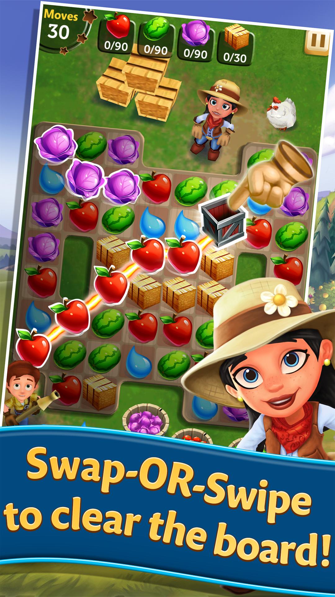 FarmVille: Harvest Swap screenshot #1