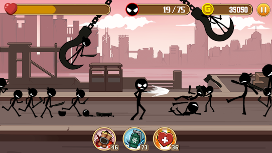 Stickman Fight MOD Apk 1.4 (Unlimited Health) 3