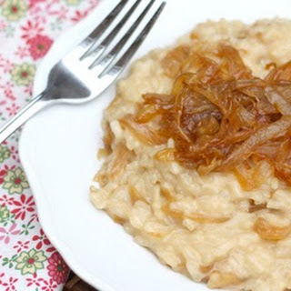 Caramelized Onion Risotto.