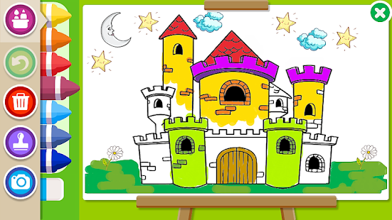 coloring book kids paint screenshot thumbnail
