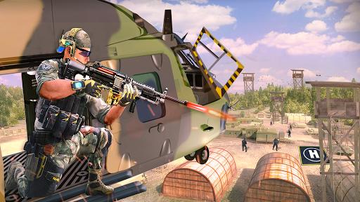Télécharger Hélicoptère Tournage Gunship Guerre  APK MOD (Astuce) screenshots 2