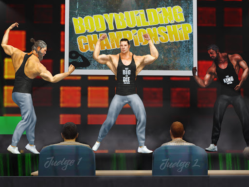GYM Fighting Games: Bodybuilder Trainer Fight PRO apkmr screenshots 13