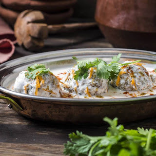 Stuffed Dahi Vada