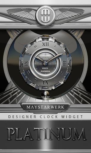 Clock Widget Platinum