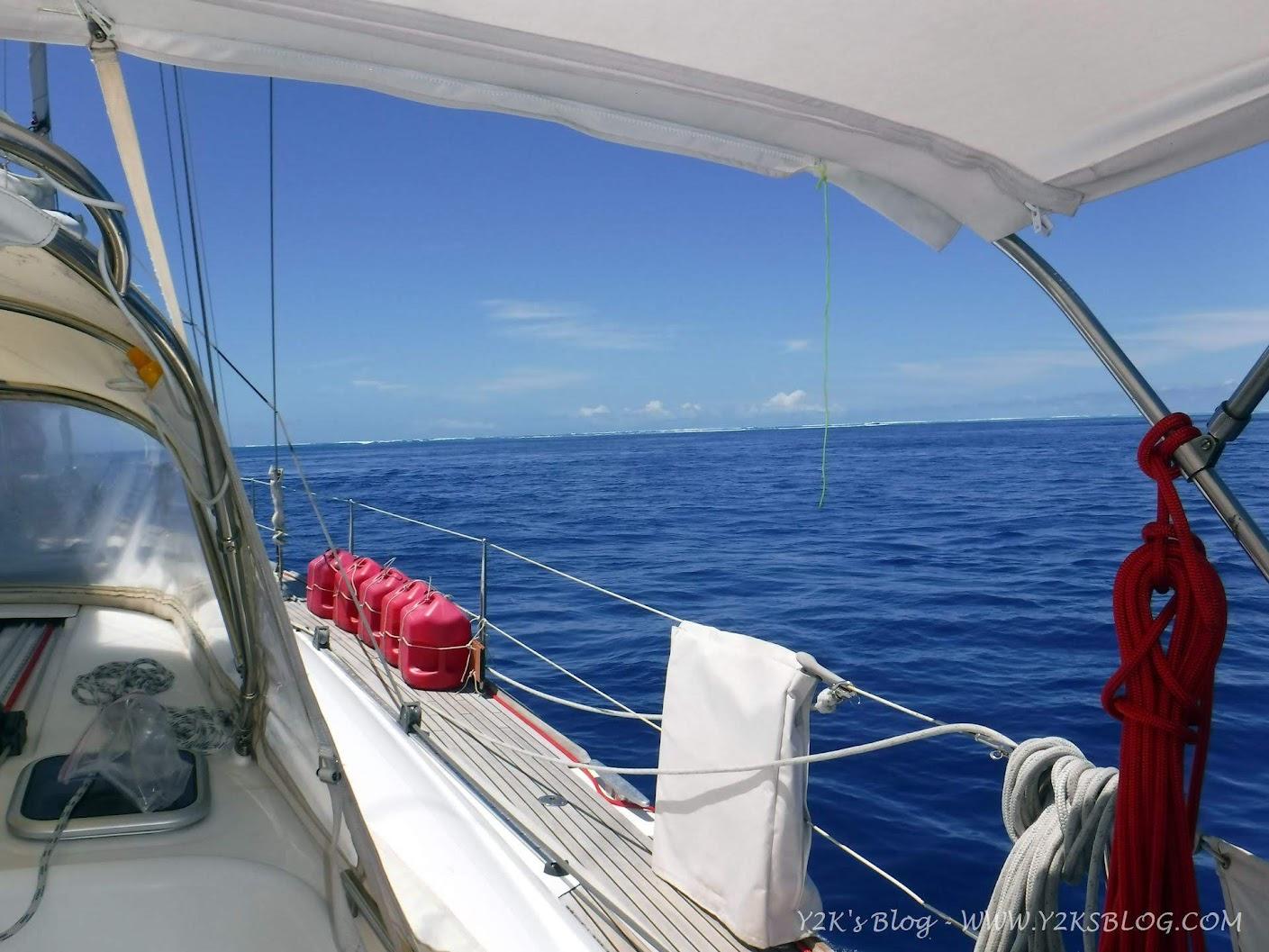 Ci allineiamo per entrare - Beveridge Reef