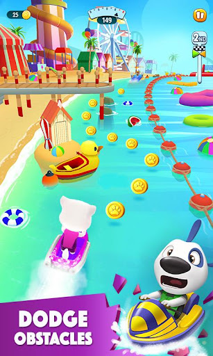 Download Talking Tom Jetski 2 MOD APK 3
