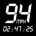GPS Speedometer : Odometer: Trip meter + GPS speed icon