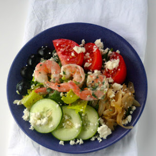Greek Shrimp Salad